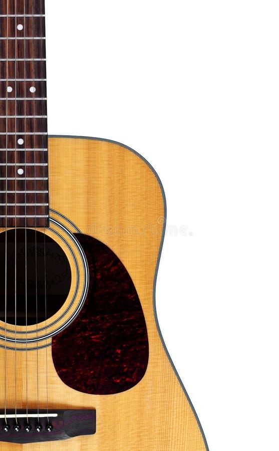 特写镜头吉他 库存图片