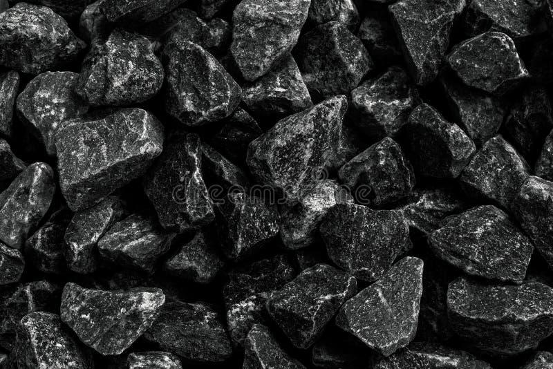 特写镜头射击了背景的自然黑煤炭 使用作为燃料 图库摄影