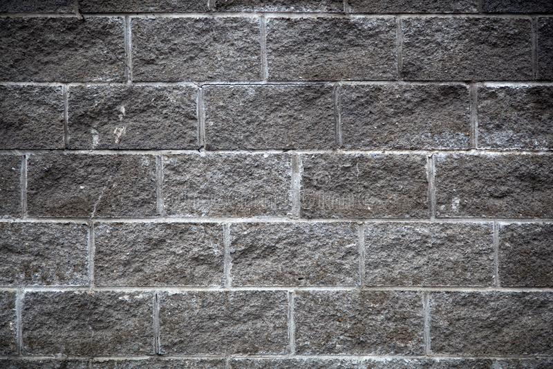 特写镜头灰色墙壁 库存图片