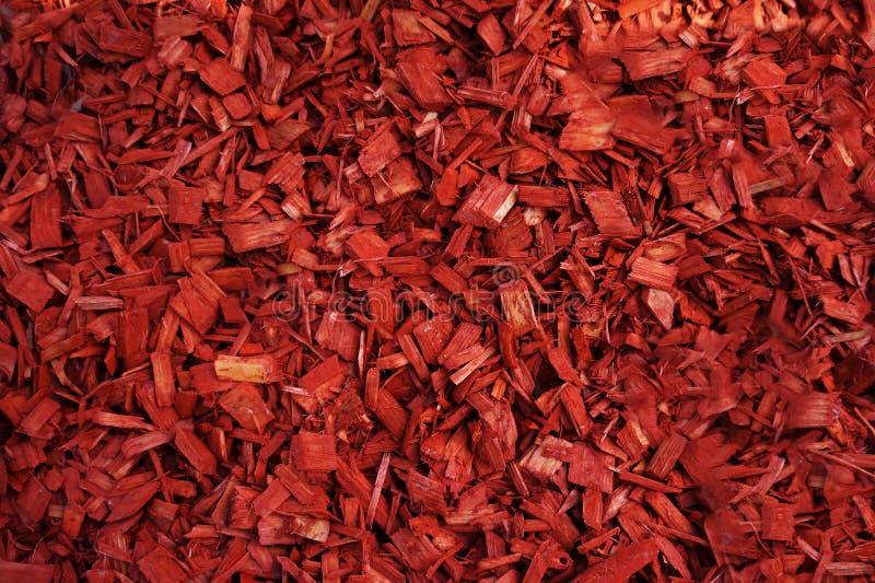 特写镜头为庭院装饰使用的被射击红色腐土 库存图片