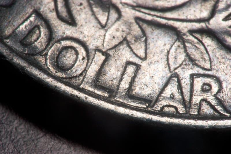 特写镜头硬币 库存照片