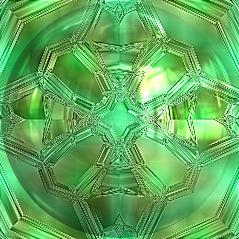 特写镜头绿宝石 向量例证