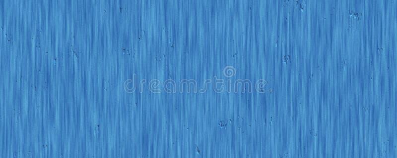特写镜头肮脏的蓝色木表面难看的东西纹理背景 免版税图库摄影