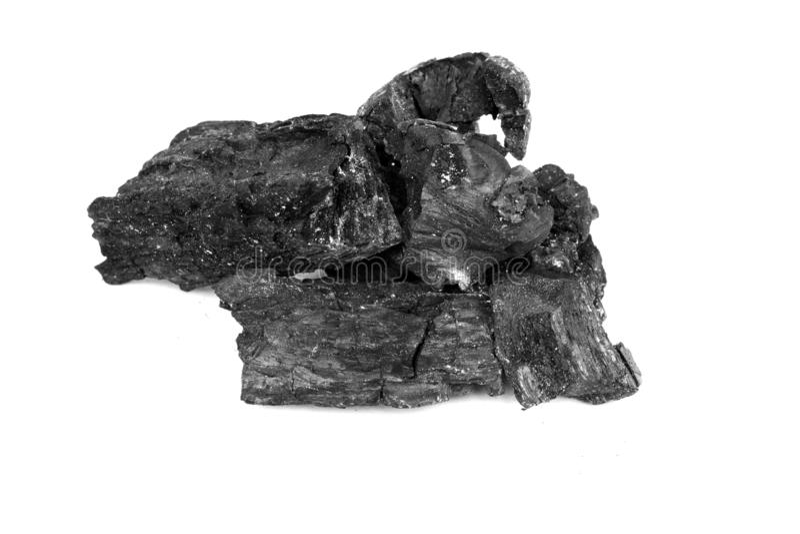 特写镜头被射击背景的自然黑煤炭 煤炭是最大的能源发电的worldwi 库存图片