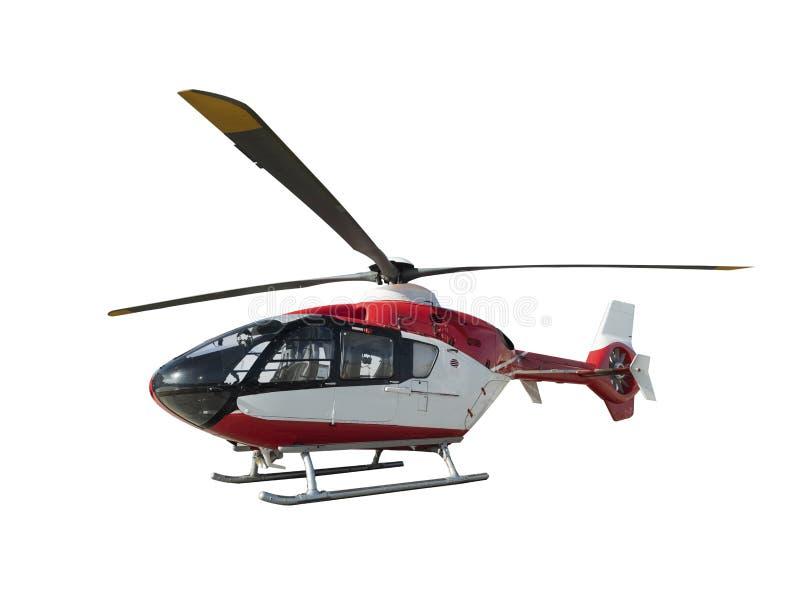 特别直升机底板白色 免版税图库摄影
