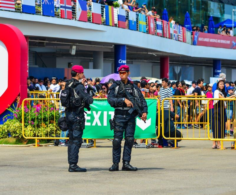 特别行动部队的战士 免版税图库摄影