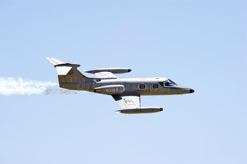 特别Ops军用里尔喷气机 库存照片