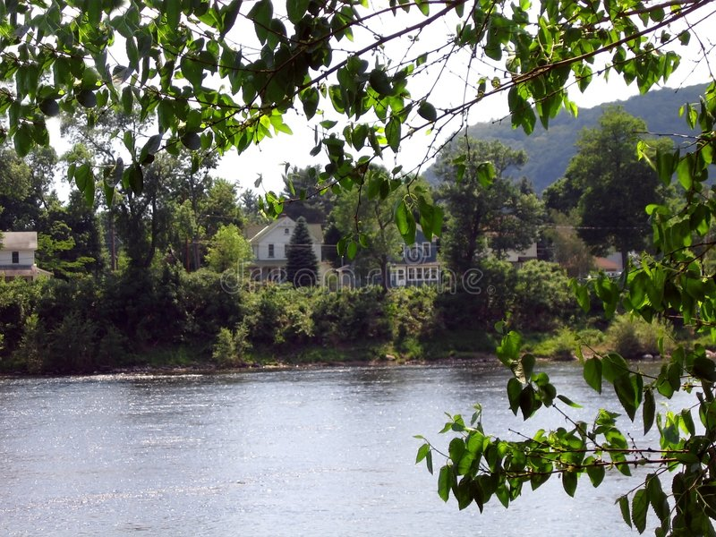 特拉华河 库存图片