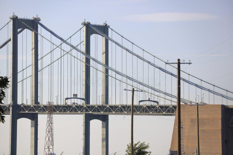 特拉华纪念品桥梁 库存图片