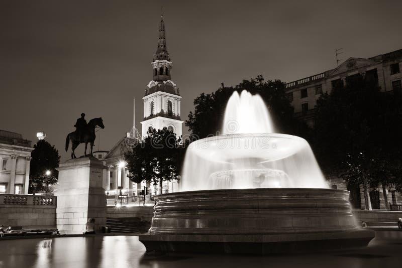 特拉法加广场 免版税图库摄影