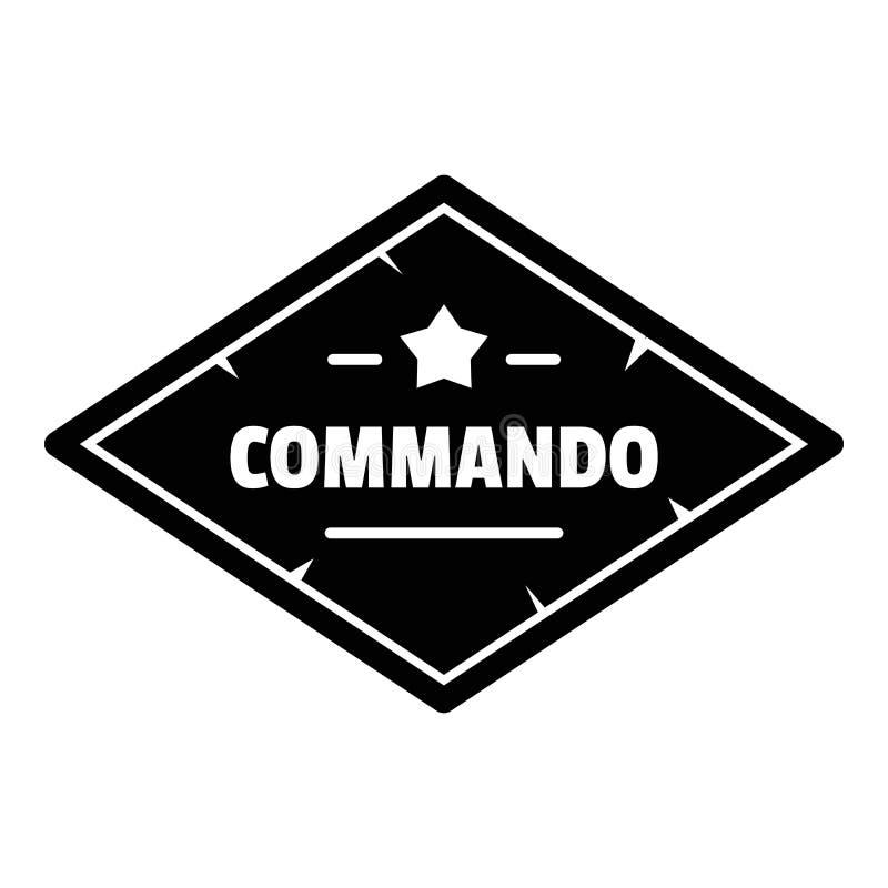 特攻队队伍商标,简单的样式 库存例证