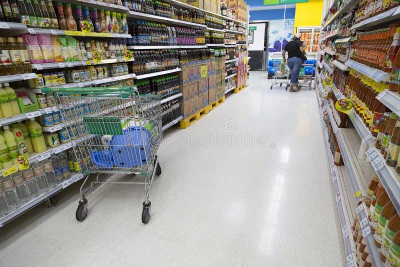特易购莲花超级市场 图库摄影