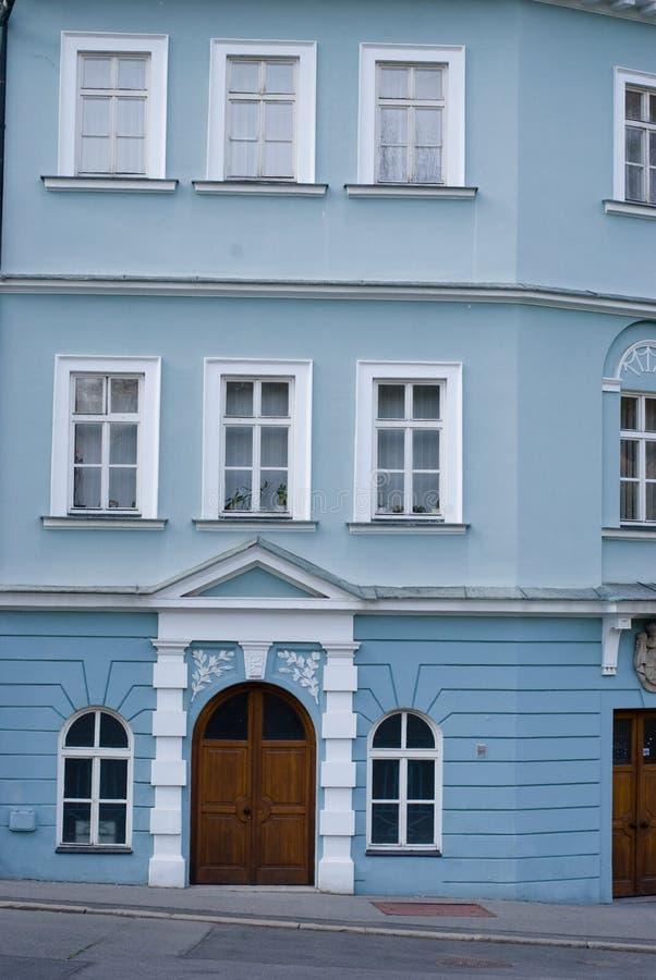 特普利采,捷克共和国 库存照片