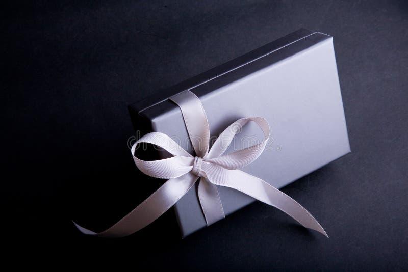 特殊地被包裹的配件箱礼品 图库摄影
