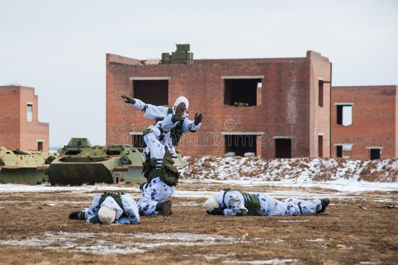 特种部队战士 图库摄影