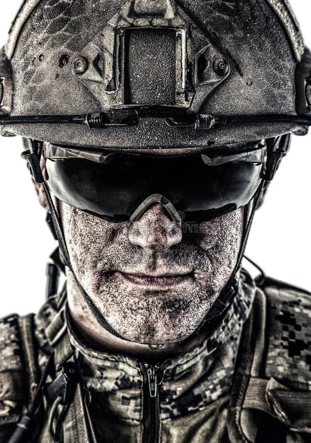 特种部队操作员 免版税库存照片