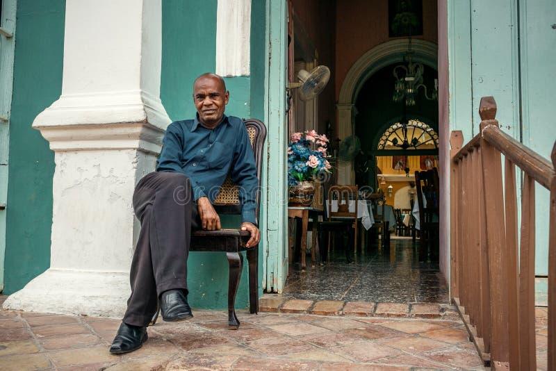 特立尼达,古巴- 2017年5月06日 免版税库存图片