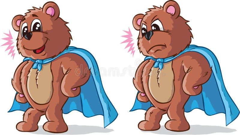 特级英雄熊 皇族释放例证
