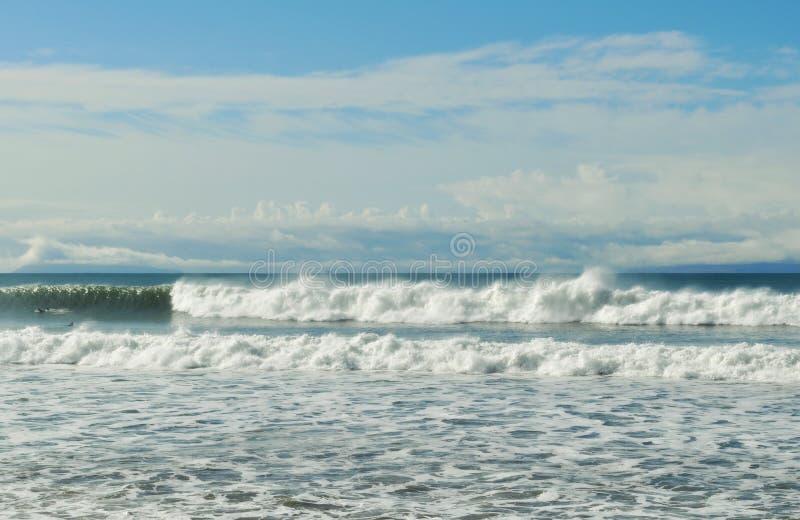 维特纳海滩冲浪者点风暴 免版税库存图片
