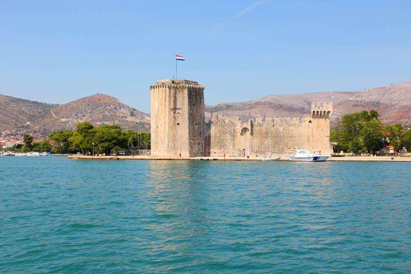 特罗吉尔城堡 免版税库存图片