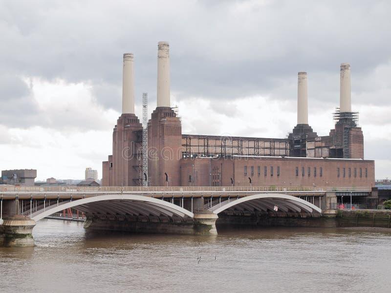 巴特锡发电站伦敦 库存图片