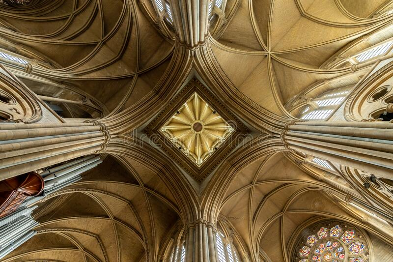 特鲁罗主教座堂 免版税库存图片