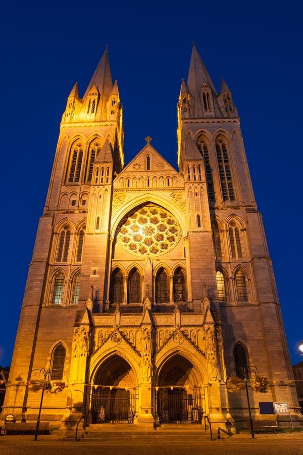 特鲁罗大教堂康沃尔郡英国 库存照片
