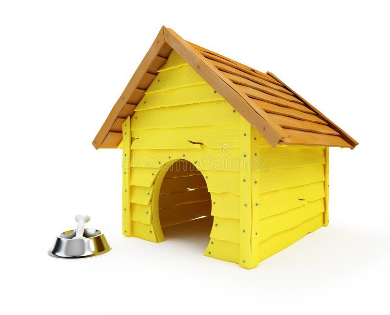 犬小屋 向量例证