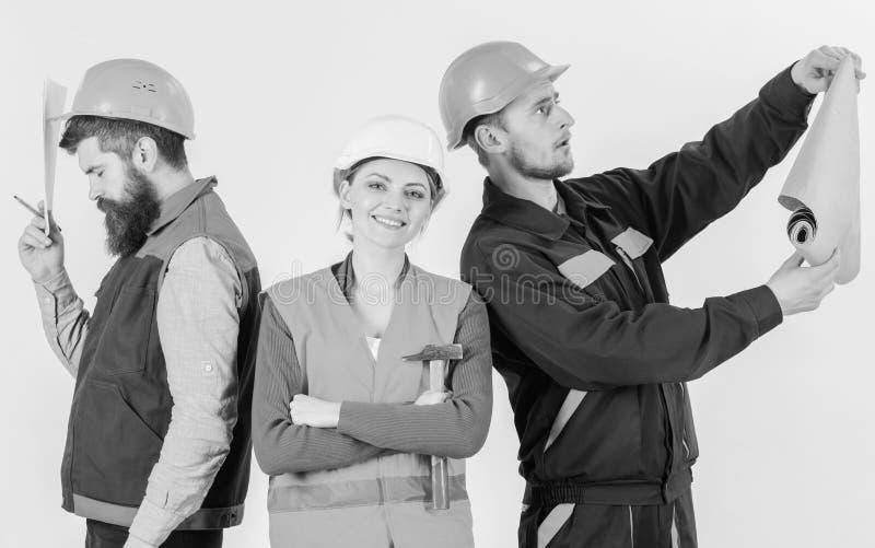 犯上概念 审查员失望关于雇员,建造者 库存图片