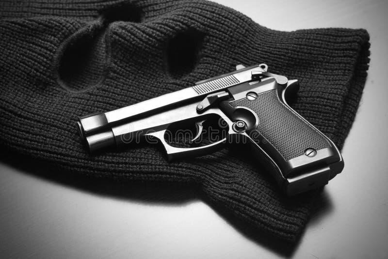 犯罪工具 免版税库存照片