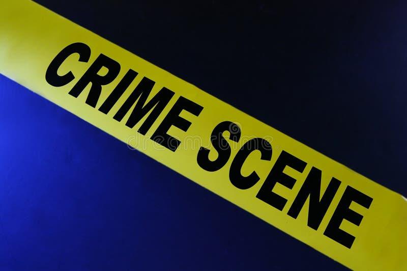犯罪现场磁带 免版税图库摄影