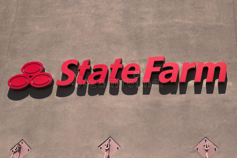 状态农场增加可扣除 免版税库存图片