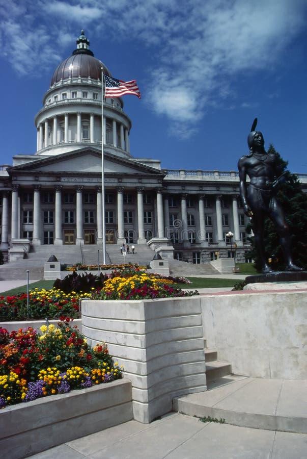 状态国会大厦,犹他 免版税库存图片