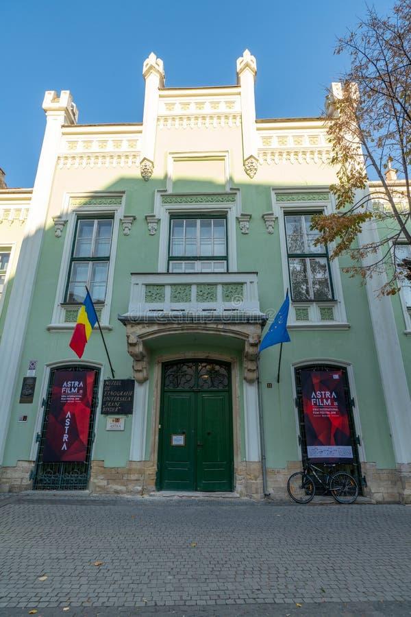 状态机关在罗马尼亚锡比乌 库存照片