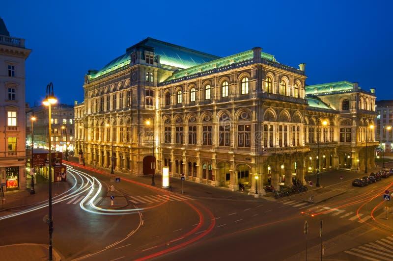 状态维也纳,奥地利歌剧院  库存照片