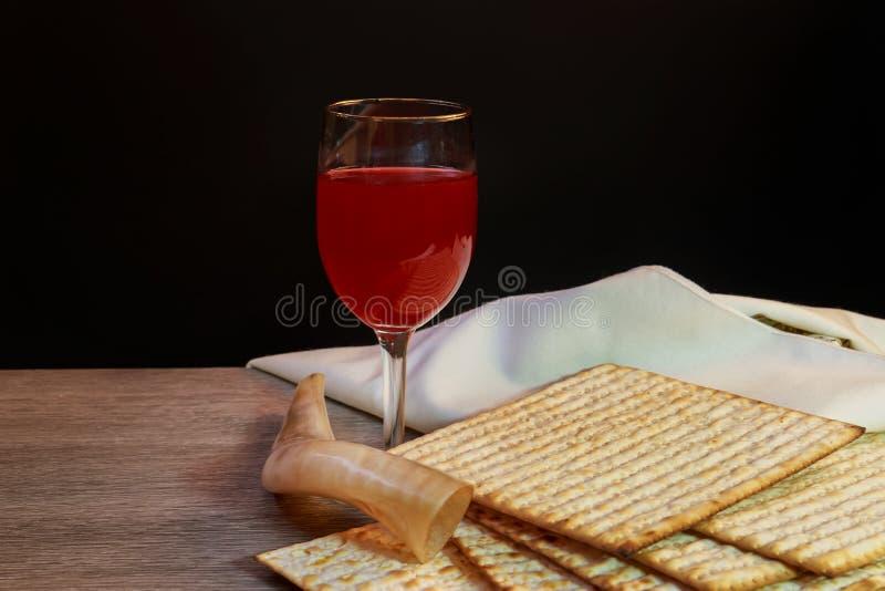 犹太假日Pesah庆祝概念逾越节 图库摄影