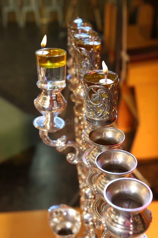 犹太光明节的节假日 库存照片