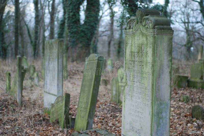 犹太公墓 免版税图库摄影