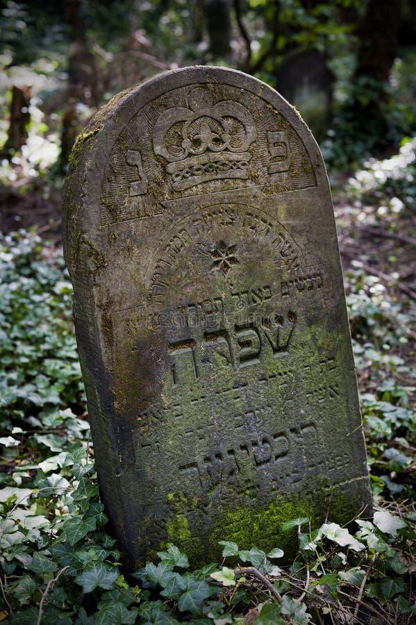 犹太坟茔 库存照片