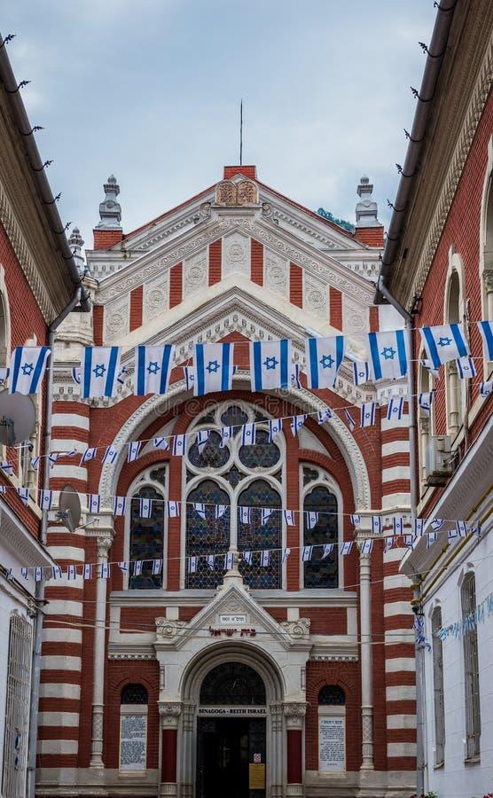 犹太教堂在布拉索夫 图库摄影