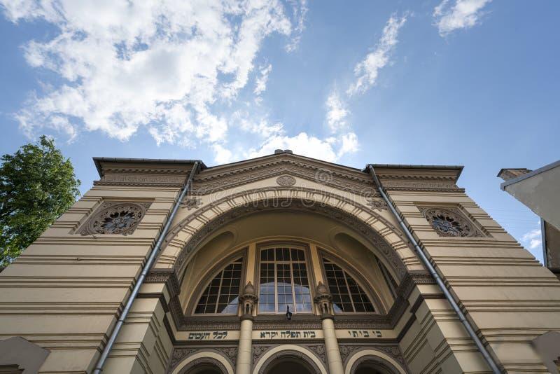 犹太教堂在维尔纽斯 图库摄影