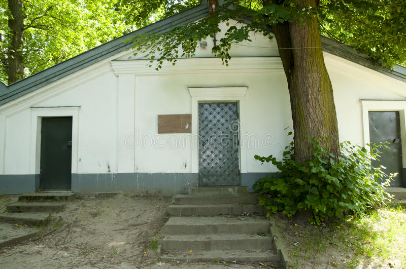 犹太教教士Elimelech土窖- Lezajsk -波兰 库存照片