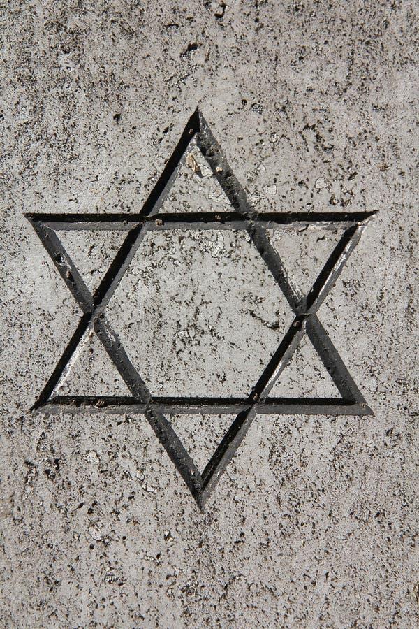 犹太星形 图库摄影