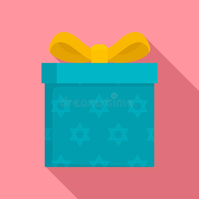 犹太礼物盒象,平的样式 皇族释放例证