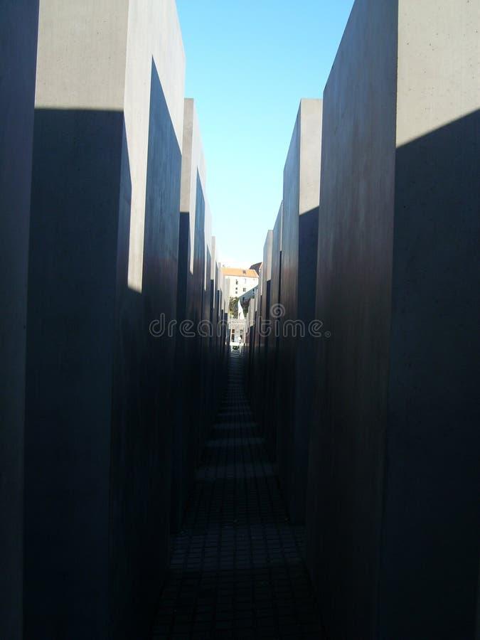犹太纪念碑 免版税图库摄影