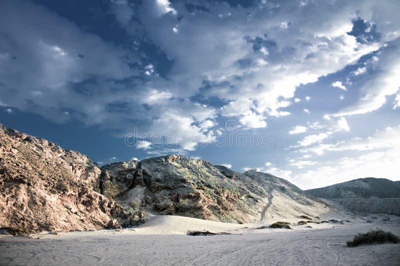 狂放的沙漠-秀丽本质上、风景和环境概念 免版税图库摄影