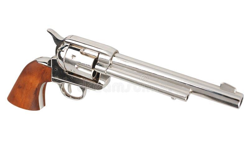 狂放的西部左轮手枪-马驹唯一行动军队 免版税库存图片
