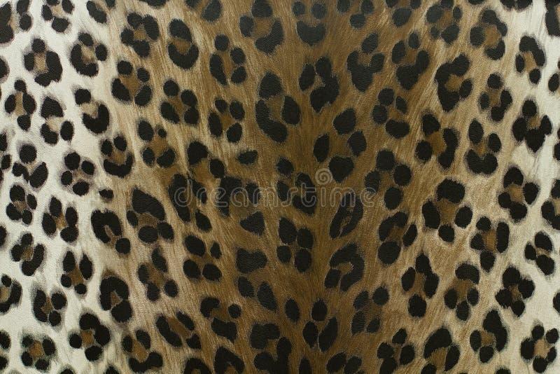 狂放的豹子样式背景或纹理 免版税库存照片