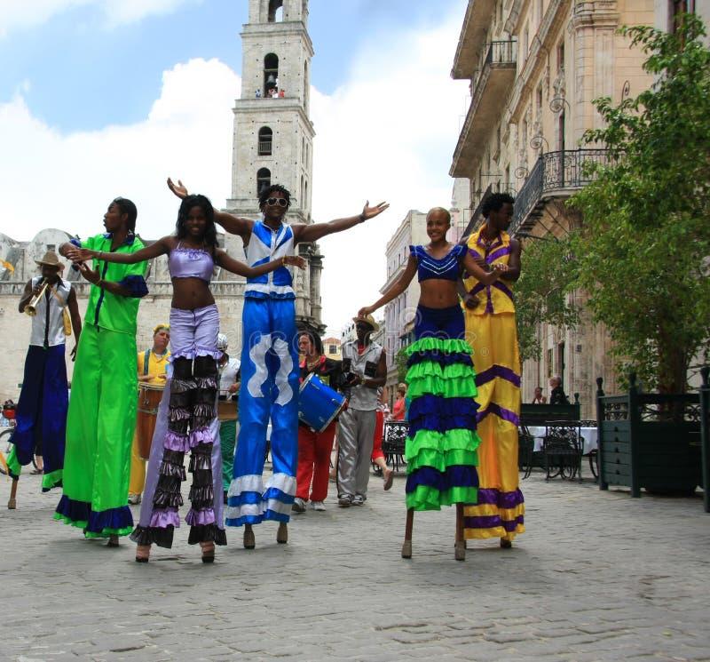 狂欢节哈瓦那 免版税库存照片