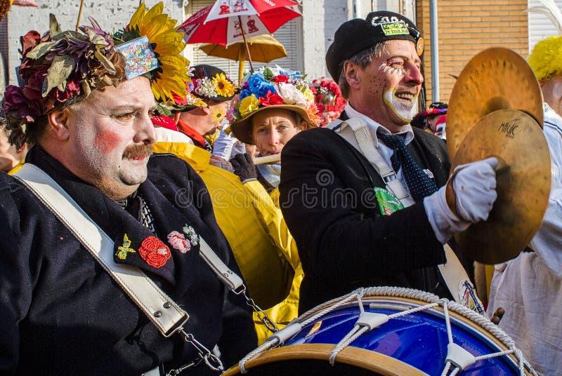 狂欢节在敦刻尔克,法国 免版税图库摄影